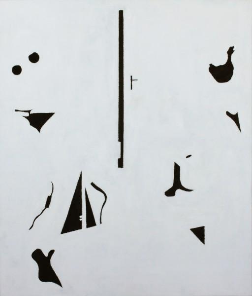 STUDIO15 #02, huile sur toile, 53x45,5cm, 2011