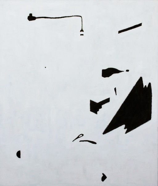 STUDIO15 #03, huile sur toile, 43x45,5cm, 2011