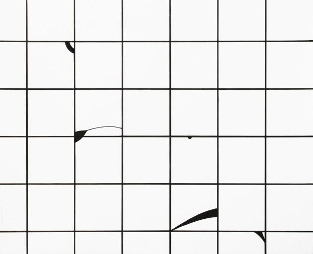 Composition01, encre sur papier, 49,8x61cm, 2014