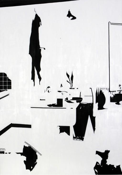 STUDIO15_C1, huile sur toile, 162x114cm, 2011
