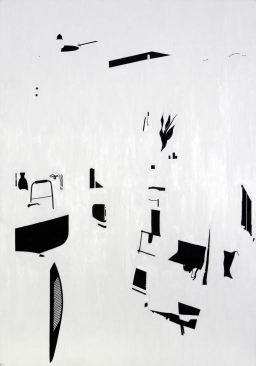 STUDIO15_C2, huile sur toile, 162x114cm, 2011