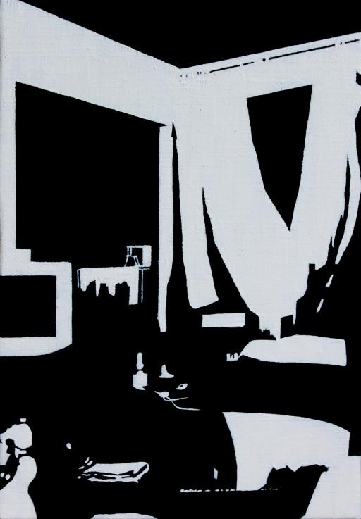 STUDIO15_S4, huile sur toile, 25,5x18cm, 2012